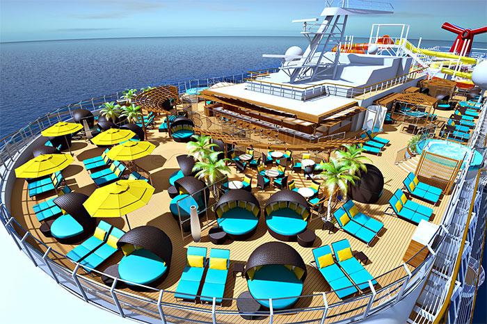 Neues Kreuzfahrtschiff der Vista-Klasse MS Carnival Panorama (c) Carnival Cruise Line