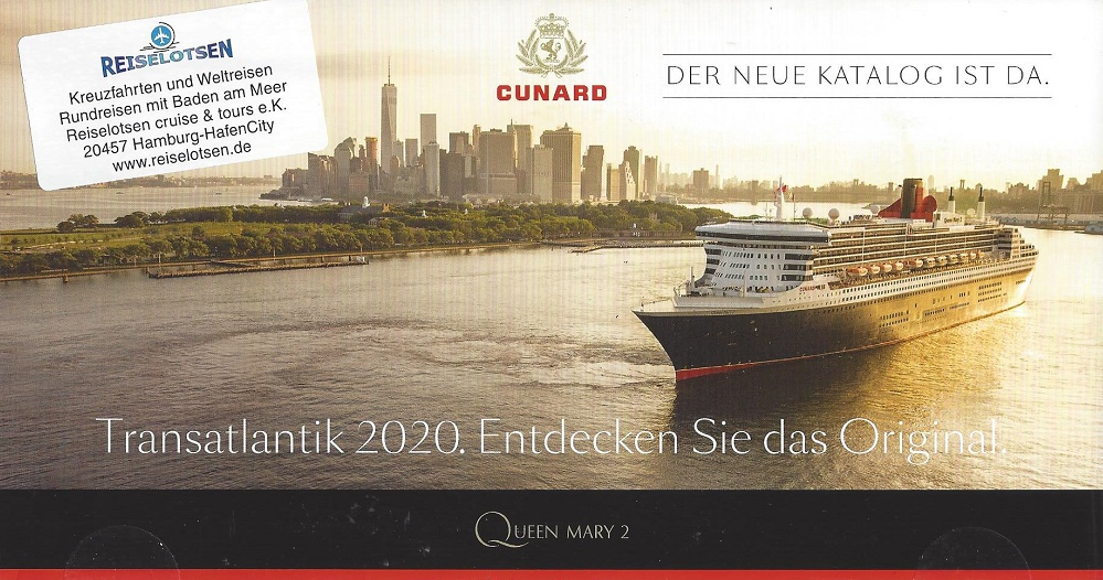 Cunard Queen Mary von hamburg nach New York - New York Transatlantik Reisen mit Queen Mary von New York nach Hamburg und Southampton