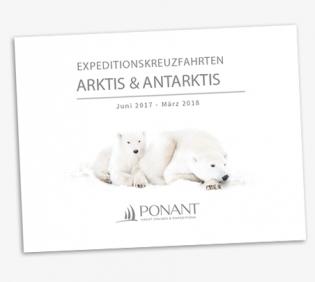 online Katalog Ponant Luxus-Kreuzfahrten in der Arktis + Antarktis