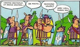 """Wer eine tote Sprache wie Latein beherrscht, versteht auch gleich Comics wie """"Asterix - Der Gallier"""" besser."""