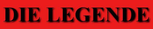 Banner Titel Buch Die Legende