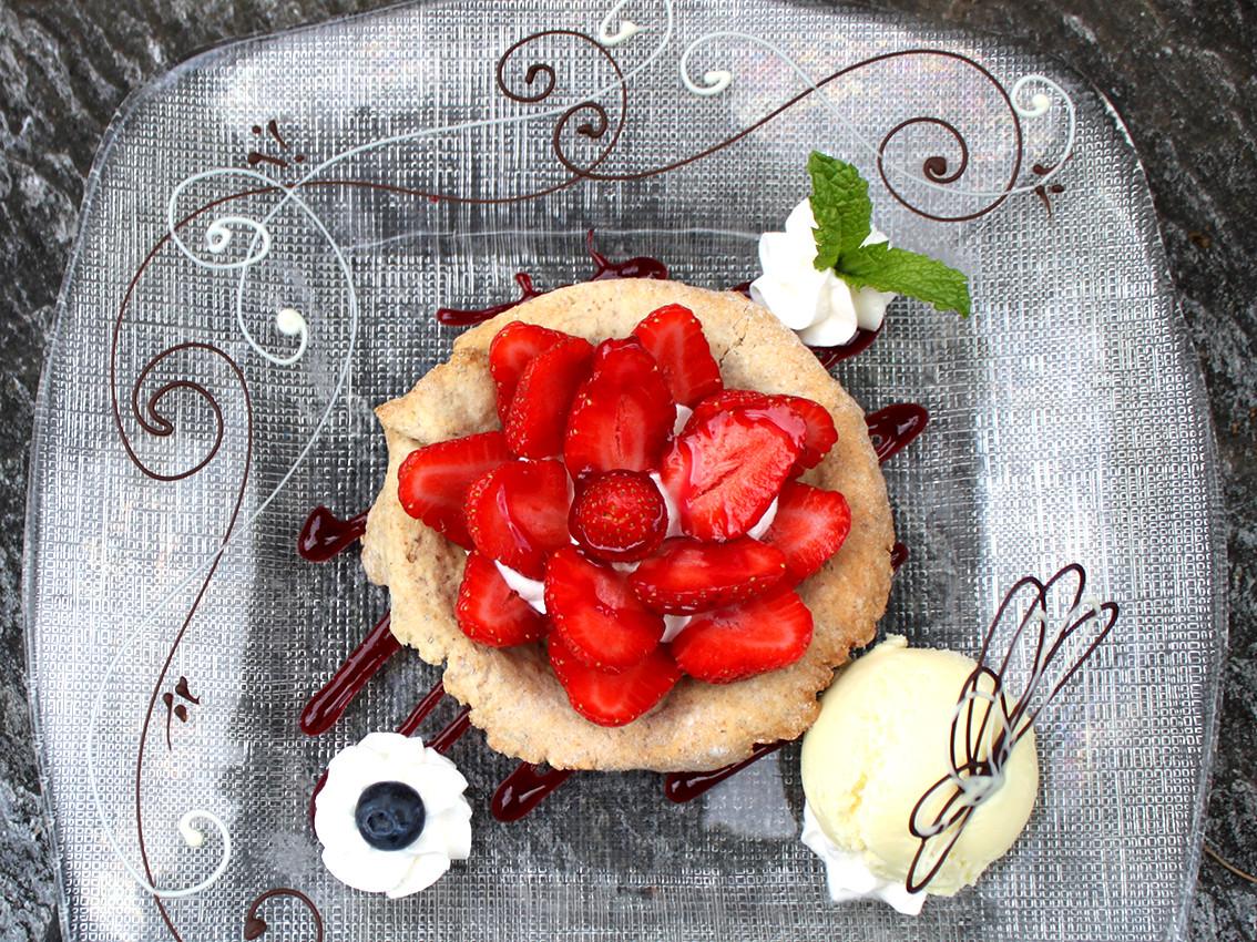 Tartelette aux fraises de Chiboz