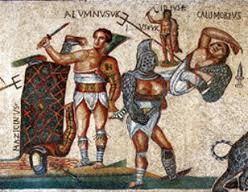 Mosaico da Tusculum, Galleria Borghese (IV se. d.C.)