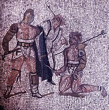 Mosaico dal Teatro Roamno di Verona, III sec. d.C.
