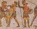 Mosaico di Zliten, Libia, II sec. d.C.