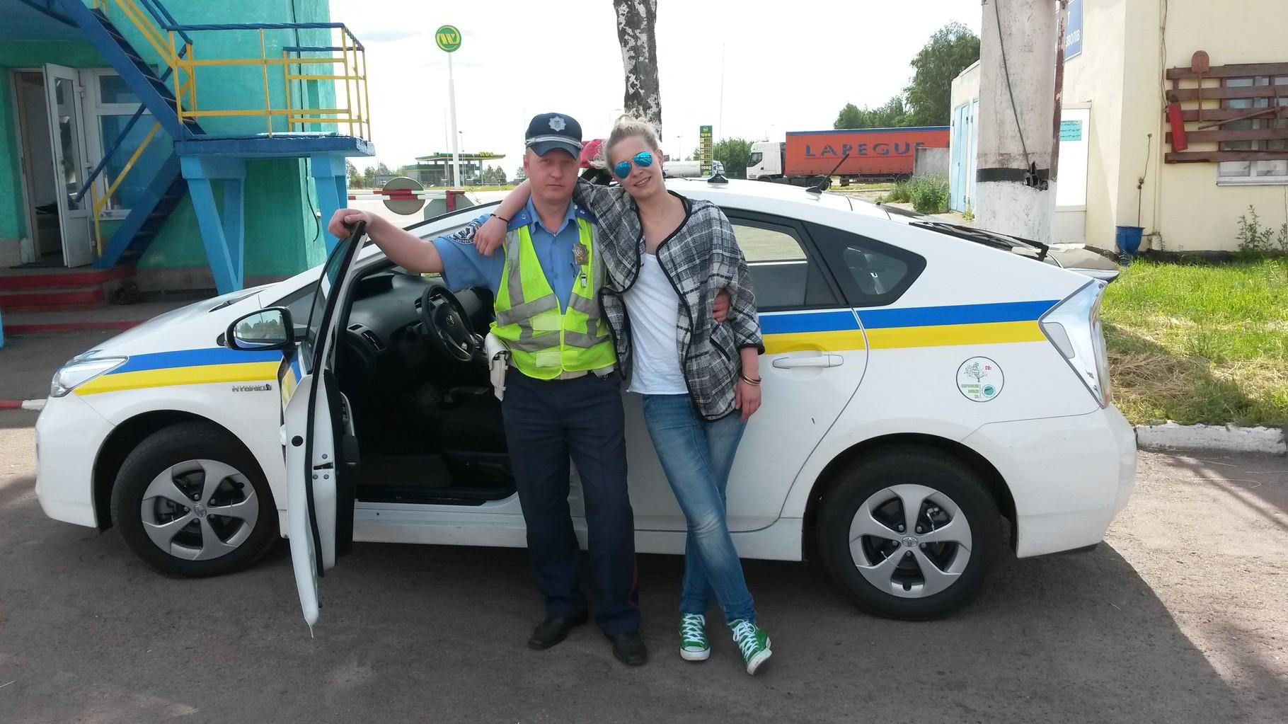 Leonie und Polizist