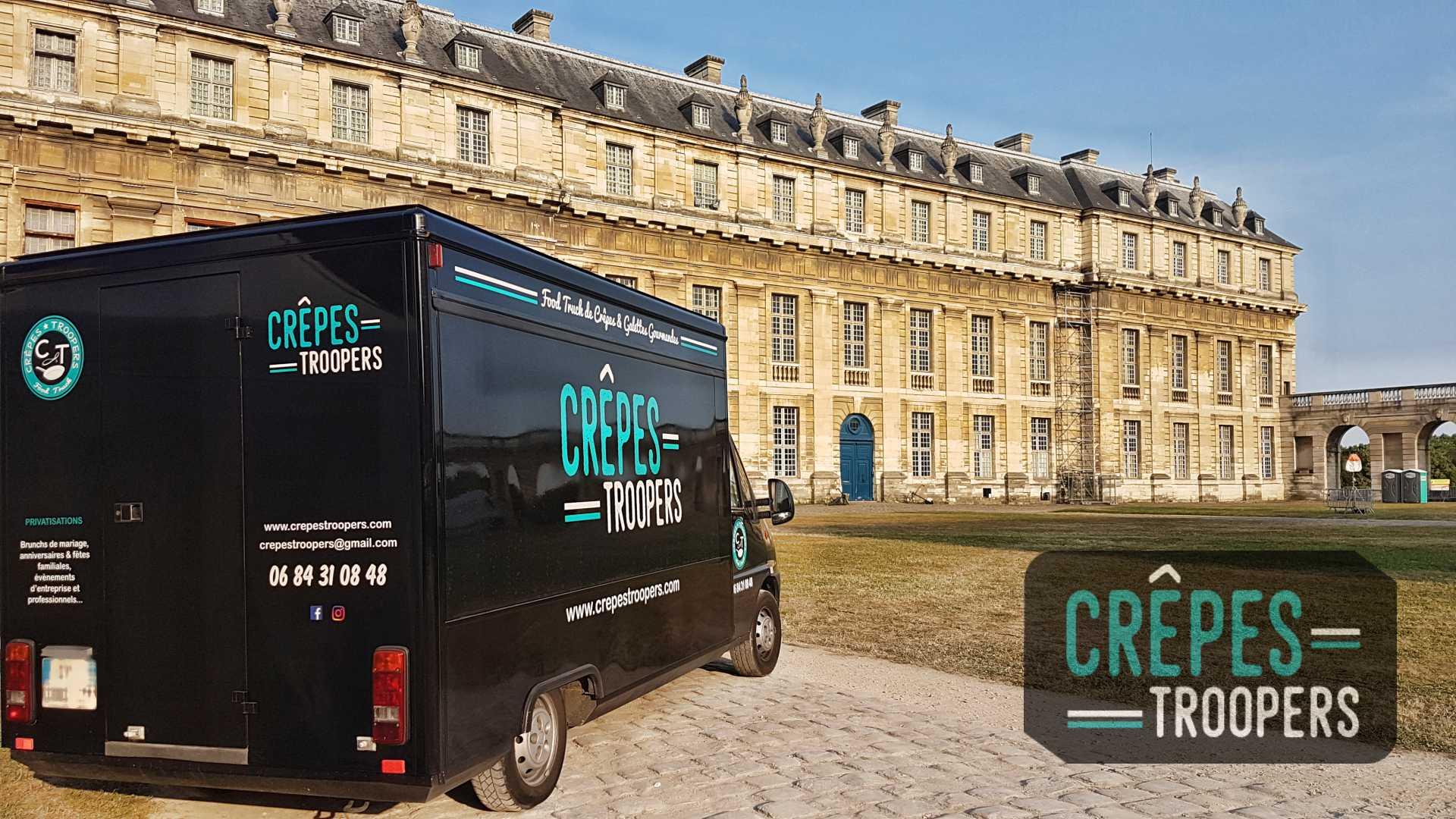 Crêpes Troopers Food Truck - cinéma en plein air / Château de Vincennes