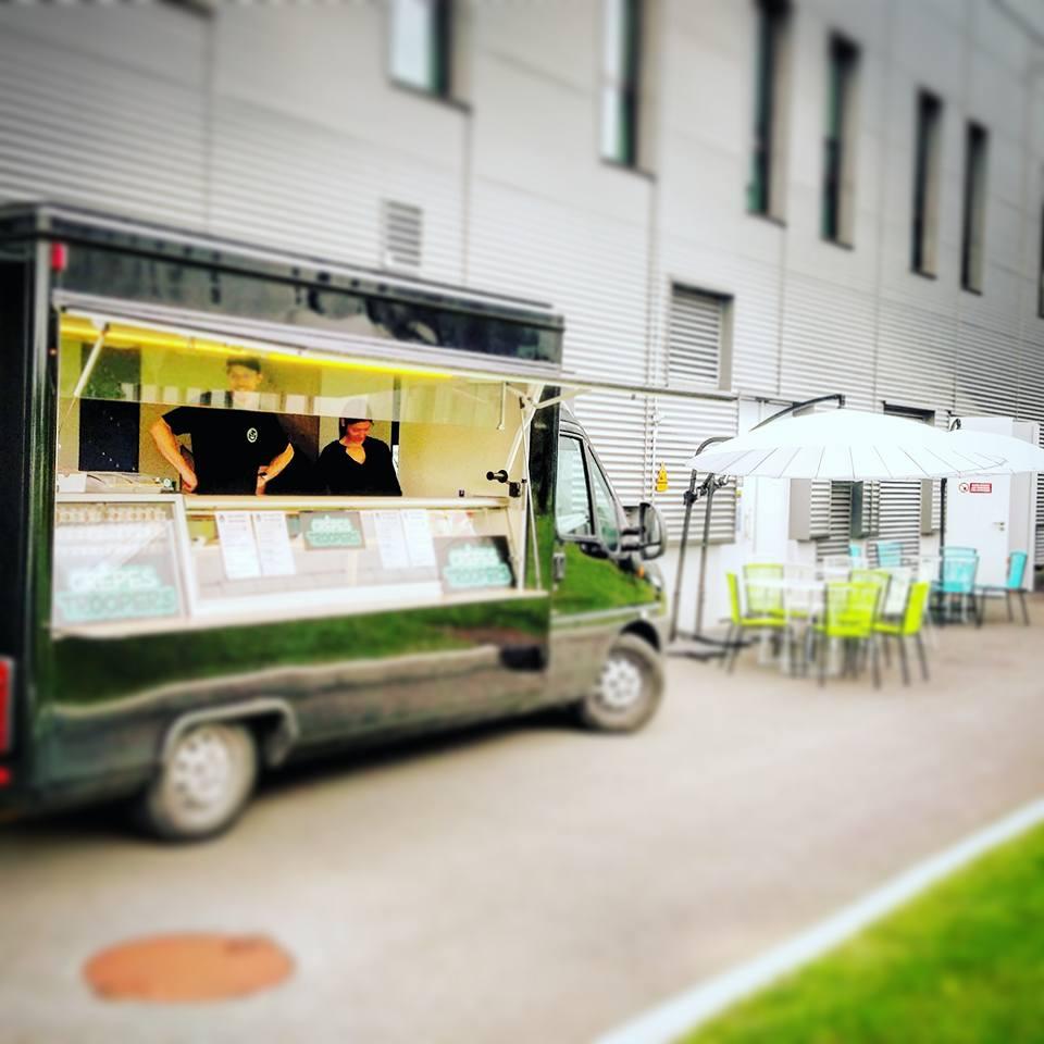Crêpes Troopers Food Truck - Journée Portes Ouvertes Plastic Omnium