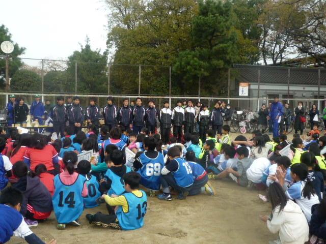 墨江丘中学校 陸上部のみなさん 3