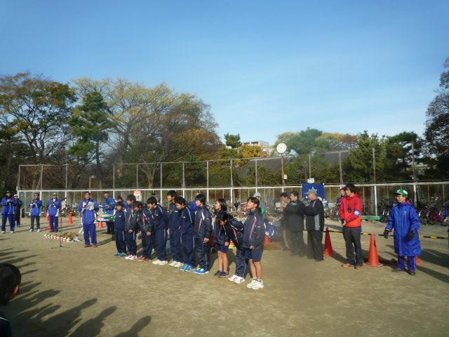 墨江丘中学校 陸上部の皆さん ありがとう!