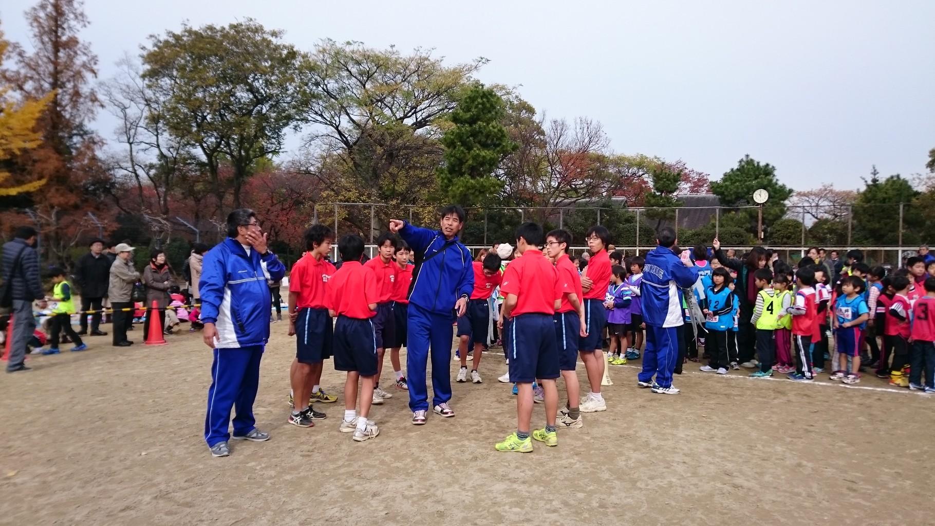 墨江丘中学校 陸上部のみなさん  2