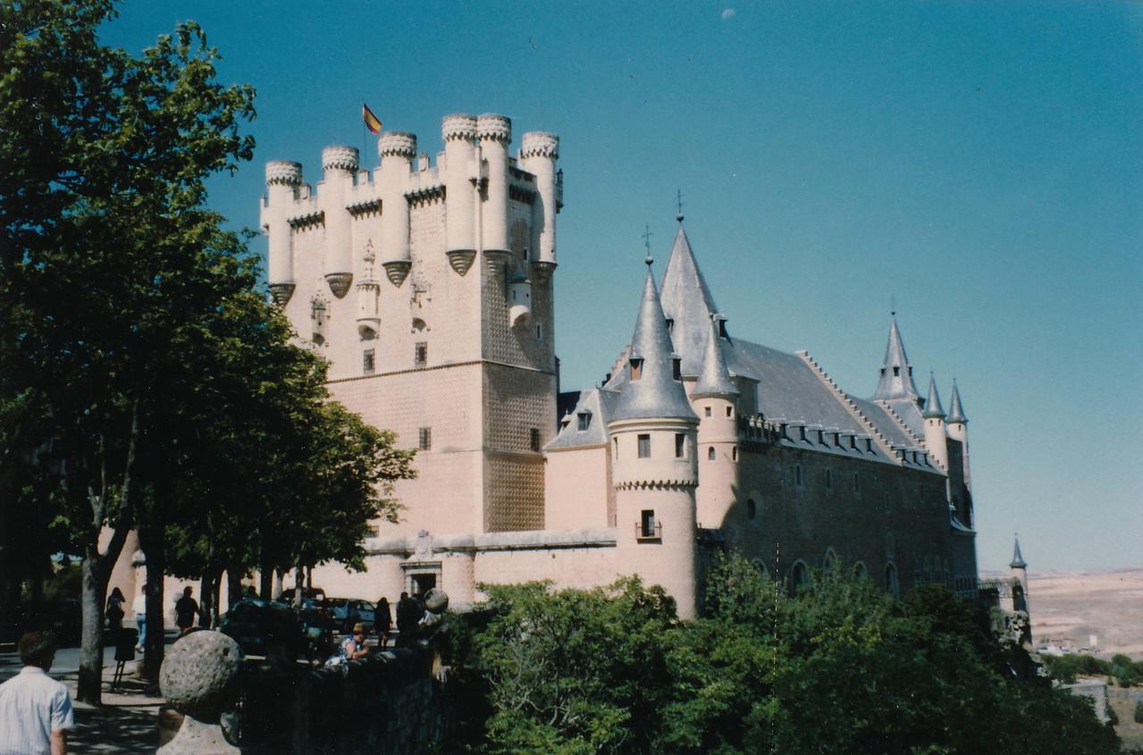 セゴビアの城