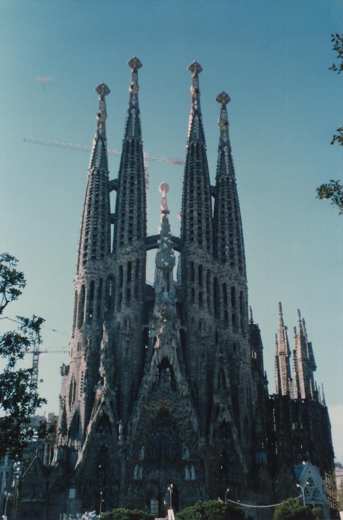 1991.バルセロナ/サグラダファミリア