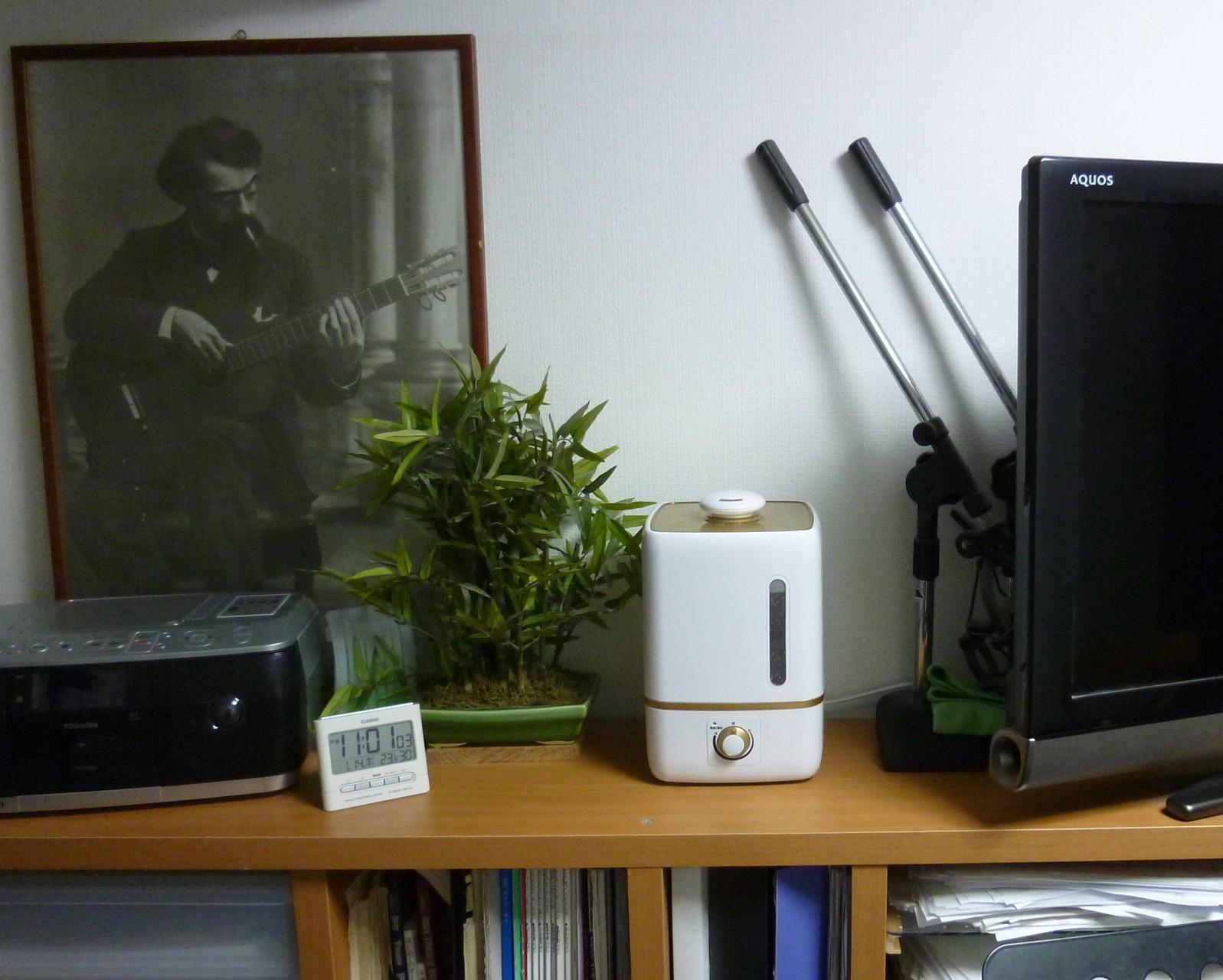 超音波加湿&消毒液噴霧器(H28.1月)