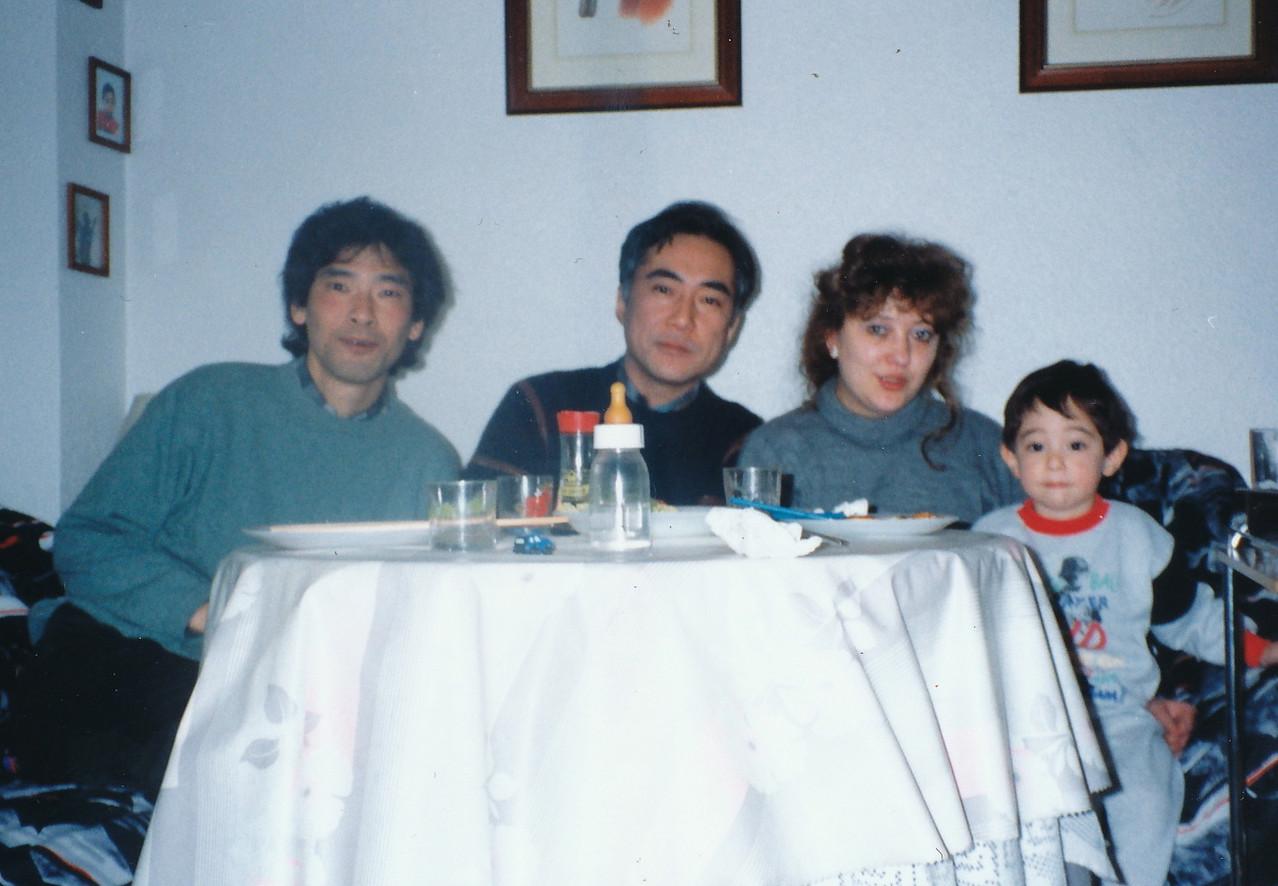 1995. 井上幸治さん宅にて。