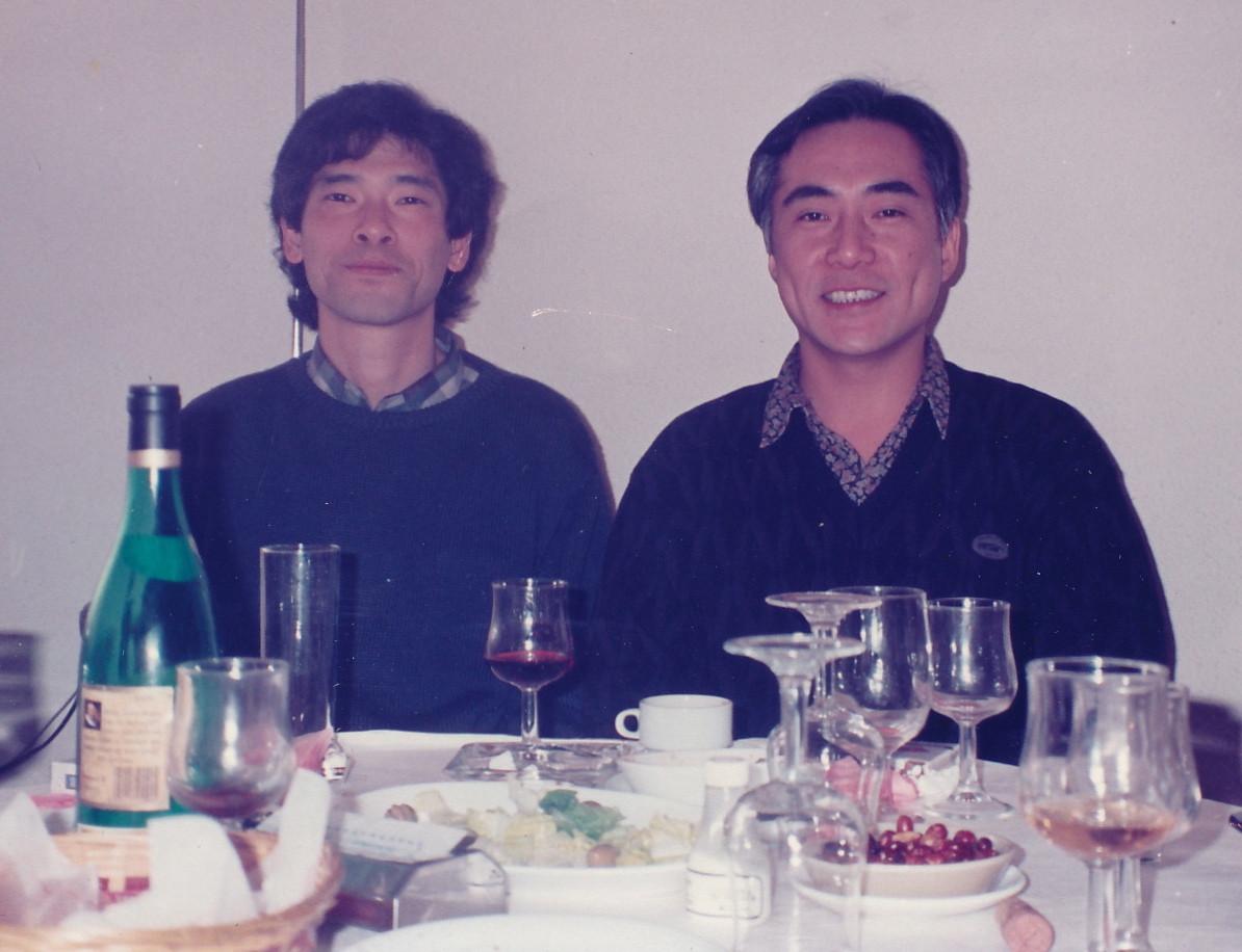1995.恩師 故井上幸治氏と。