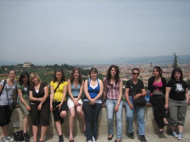 gruppetto di au-pair 2008