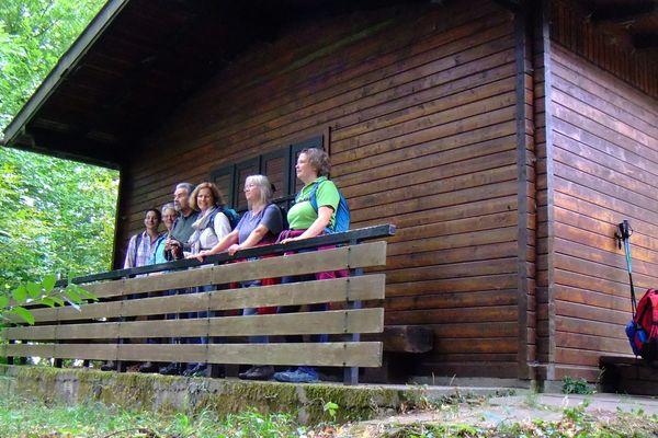 An der Neckarriedkopf Hütte