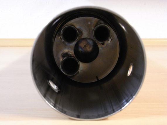 Bild: MZ,ETZ,250,ETZ251,ETZ 251,Restauration,Auspuff,Auspufftopf,Schalldämpfer,Prallblech,Resonator,Hülle,Endkappe,Krümmer,Nachbau,Selbstbau,V2A,Edelstahl,selbst bauen,nachbauen,Schweißnaht,schweißen,Original,Originalmaße,hochwertig,Billignachbau