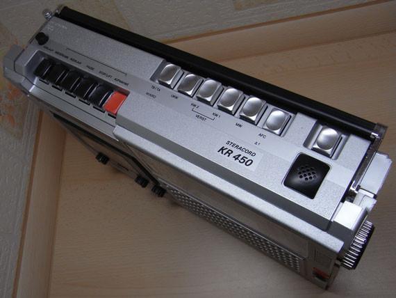 Bild: RFT KR 450,Kassettenrekorder,Kassettenrecorder,Radio,DDR,RFT,Reparatur,Restauration,Defekt,Überholung,Ersatzteile,instandsetzen,reparieren,überholen,aufarbeiten,kaputt