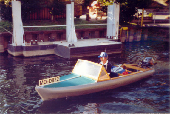 Faltboot MTW Delphin 110/2