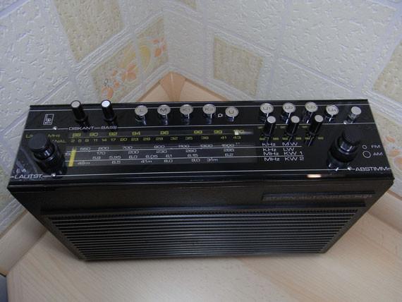 Bild: RFT Stern Automatic 1421,Kunstleder,schwarz,Radio,DDR,RFT,Reparatur,Restauration,Defekt,Überholung,Ersatzteile,instandsetzen,reparieren,überholen,aufarbeiten,kaputt