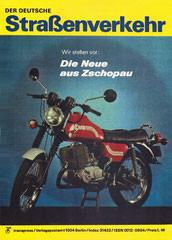 """DDR Zeitschrift """"Der deutsche Straßenverkehr"""""""