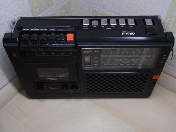 Bild: RFT R 4100,Kassettenrekorder,Kassettenrecorder,Radio,DDR,RFT,Reparatur,Restauration,Defekt,Überholung,Ersatzteile,instandsetzen,reparieren,überholen,aufarbeiten,kaputt