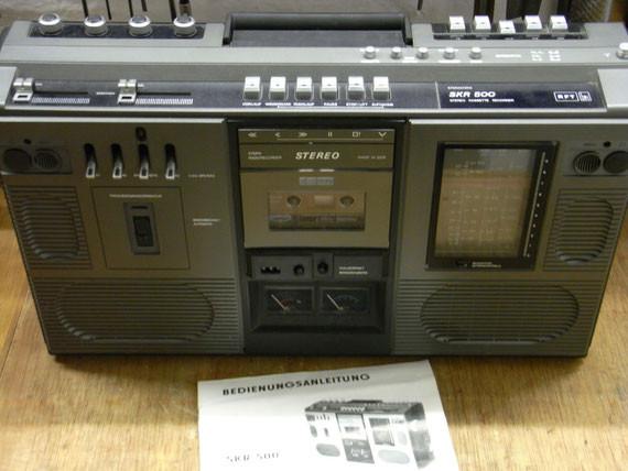 Bild: RFT SKR 500,Kassettenrekorder,Kassettenrecorder,Radio,DDR,RFT,Reparatur,Restauration,Defekt,Überholung,Ersatzteile,instandsetzen,reparieren,überholen,aufarbeiten,kaputt