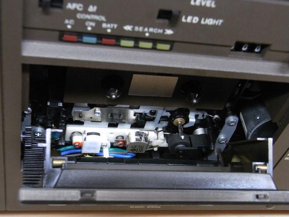 Bild: RFT SKR 550,MU300,Kassettenrekorder,Kassettenrecorder,Radio,DDR,RFT,Reparatur,Restauration,Defekt,Überholung,Ersatzteile,instandsetzen,reparieren,überholen,aufarbeiten,kaputt