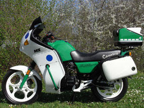 "Bild: MZ Rotax 500 ""Polizei"""