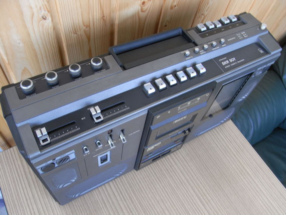 Bild: RFT SKR 501 mit braunem Mittelteil,Kassettenrekorder,Kassettenrecorder,Radio,DDR,RFT,Reparatur,Restauration,Defekt,Überholung,Ersatzteile,instandsetzen,reparieren,überholen,aufarbeiten,kaputt