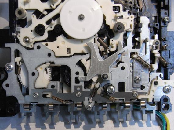 Rückseite: Montage der nächsten Ebene