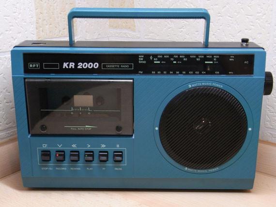 Bild: RFT KR 2000,Kassettenrekorder,Kassettenrecorder,Radio,DDR,RFT,Reparatur,Restauration,Defekt,Überholung,Ersatzteile,instandsetzen,reparieren,überholen,aufarbeiten,kaputt