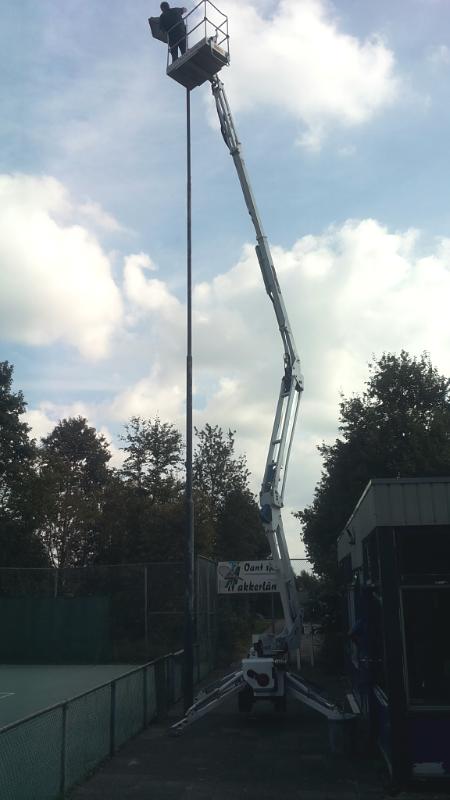 Tot 24 meter hoog!