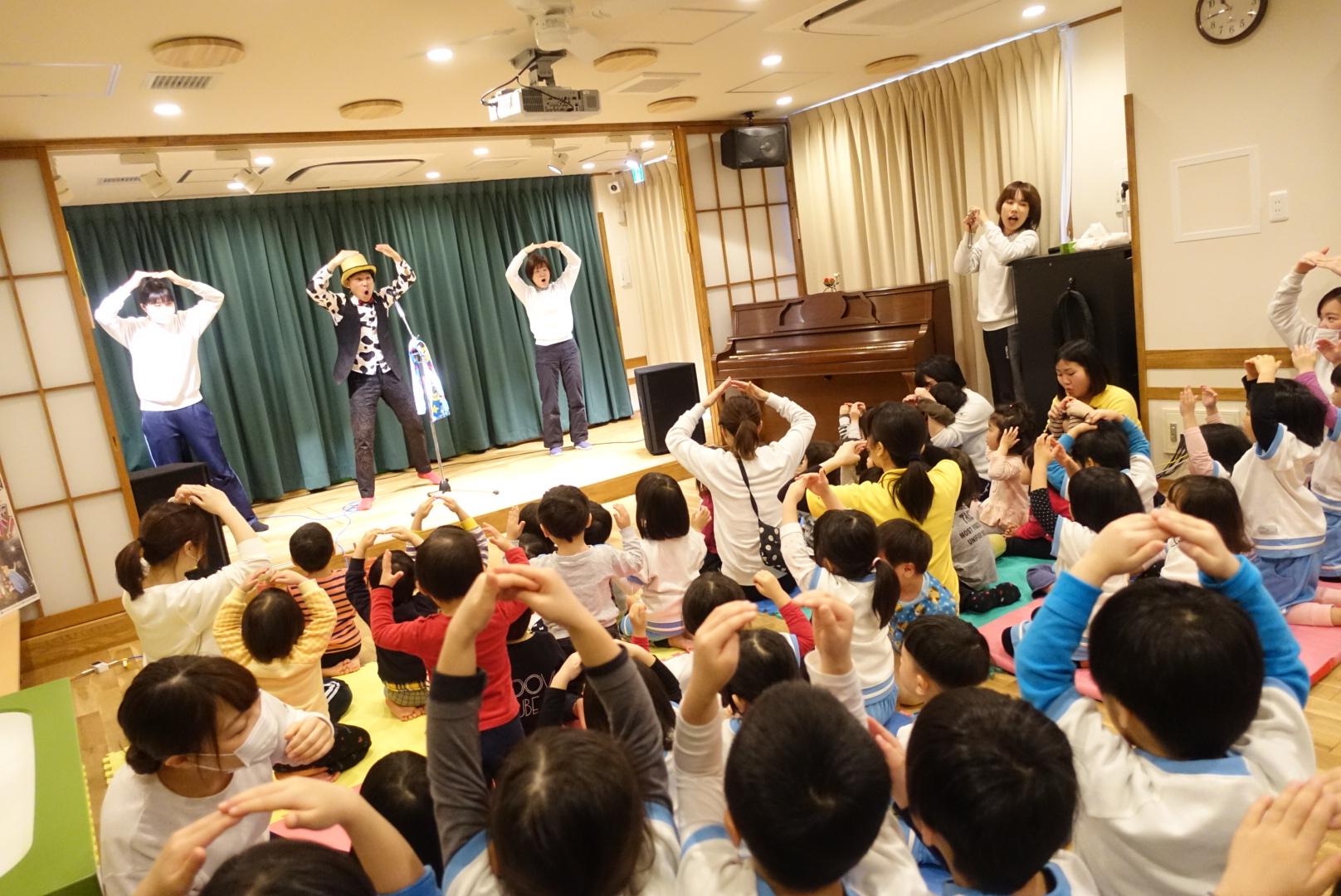 幼稚園ライブ