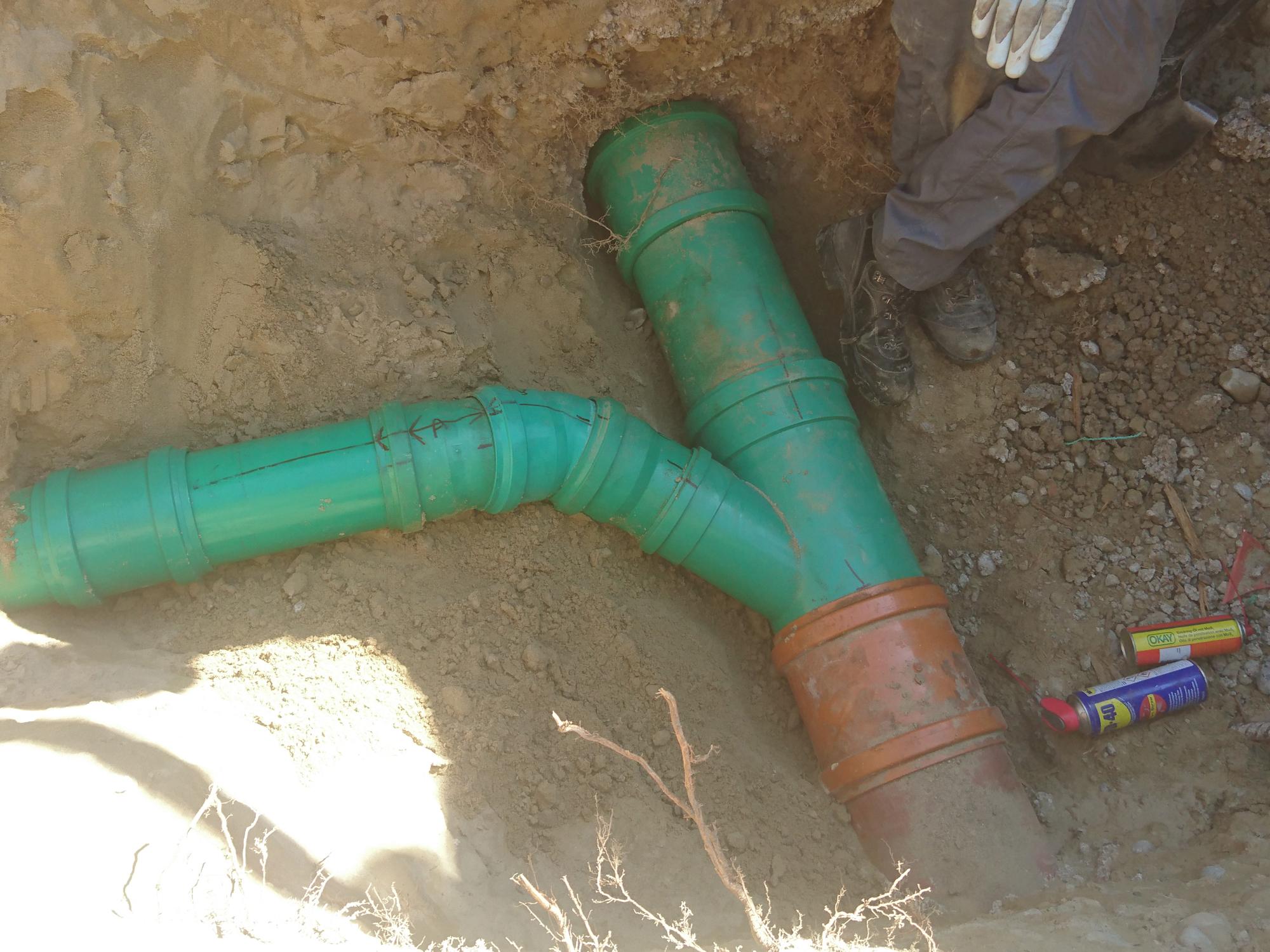 Kanalisationsarbeiten