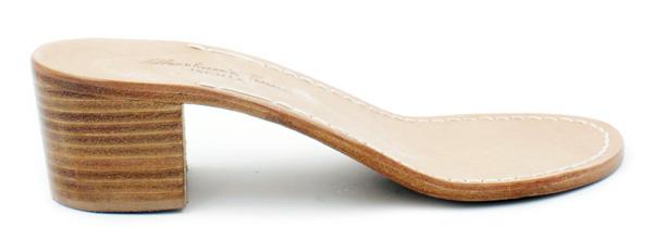 sandali artigianali con tacco ischia