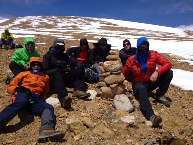 Akklimatisatonstour auf 5422 m