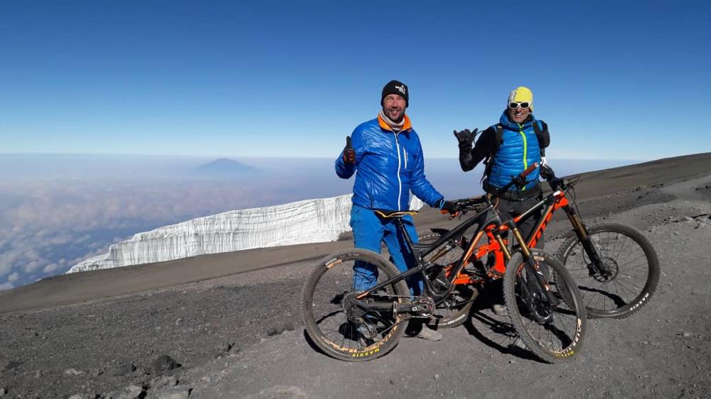Kilimanjaro mit dem Mountainbike, Downhill Kilimanjaro, Kilimanjaro mit dem MTB