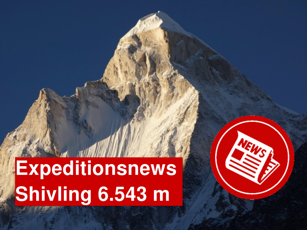 Shivling Expedition, Expedition zum Traumberg Shivling, Matterhorn Indiens, Shivling besteigen, Expeditionstagebuch Shivling