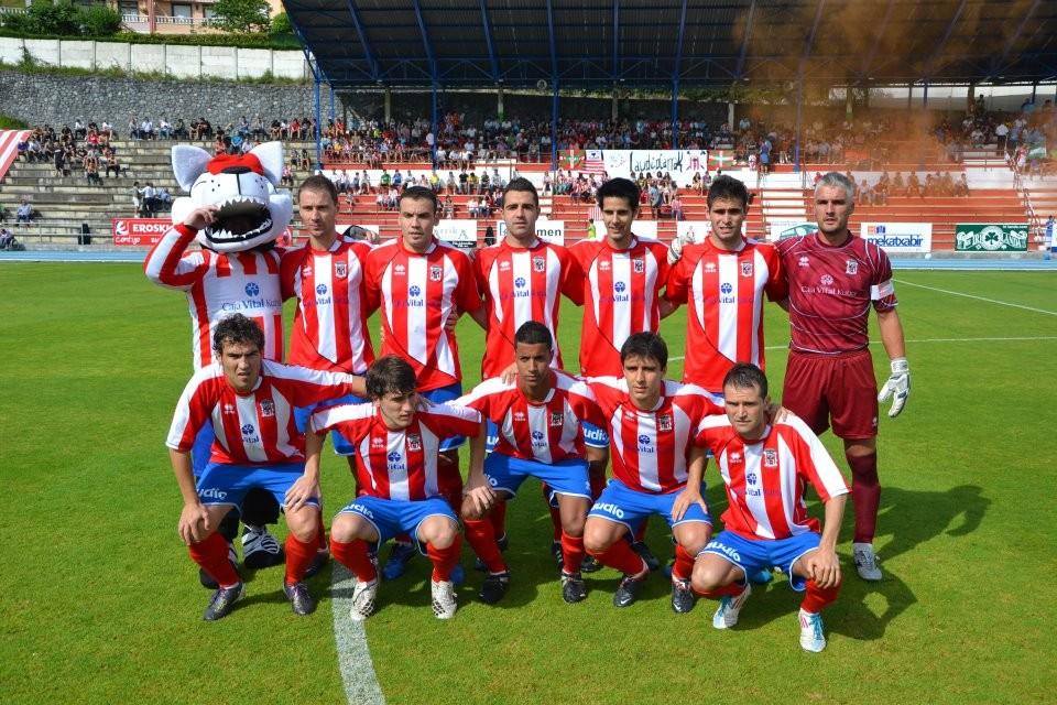 Laudio 2011-12. Partido de vuelta de la final por el ascenso a 2ªB ante el San Fernando (0-1)