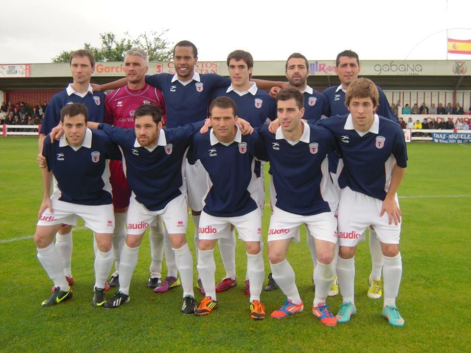 Laudio 2012-13. Partido de ida de las semifinales por el ascenso a 2ªB ante el Varea.