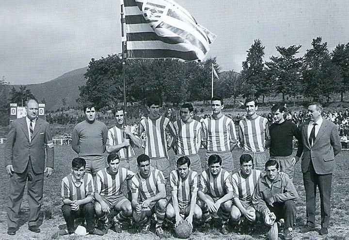 Villosa 1965-66. Partido del ascenso a 3ª División frente el Deusto (3-1)