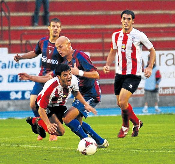 El Laudio cayó ante el Eibar por 0-1 en la 1ª eliminatoria de la pasada Copa del Rey. Foto: Mundo Deportivo.