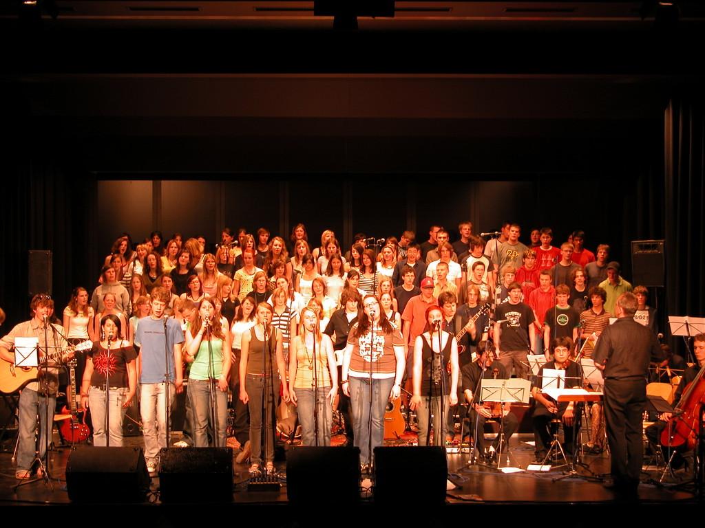 2005 und 2007 Rock meets Classic; Kollegium Spiritus Sanctus