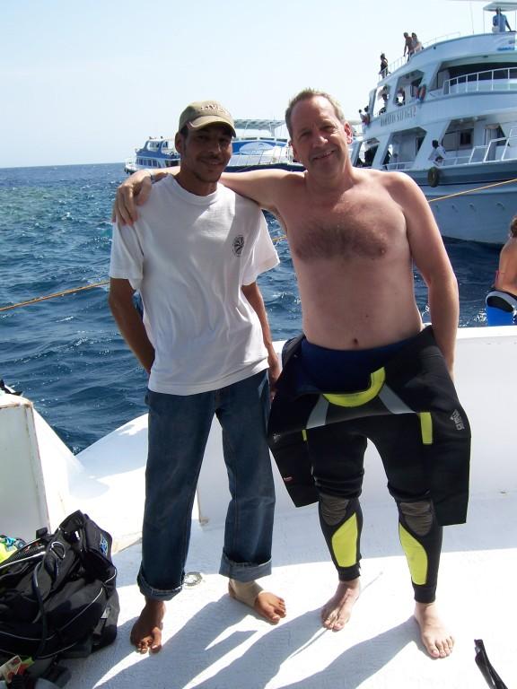 2007 Safaga mit Crew
