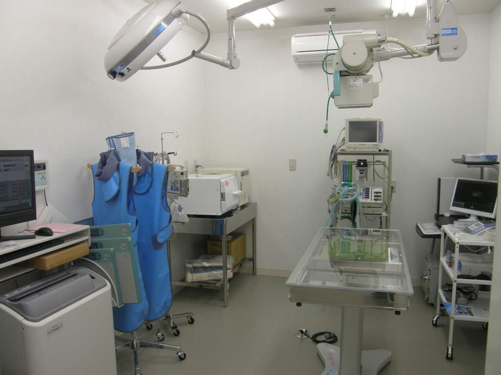 X線検査室・手術室