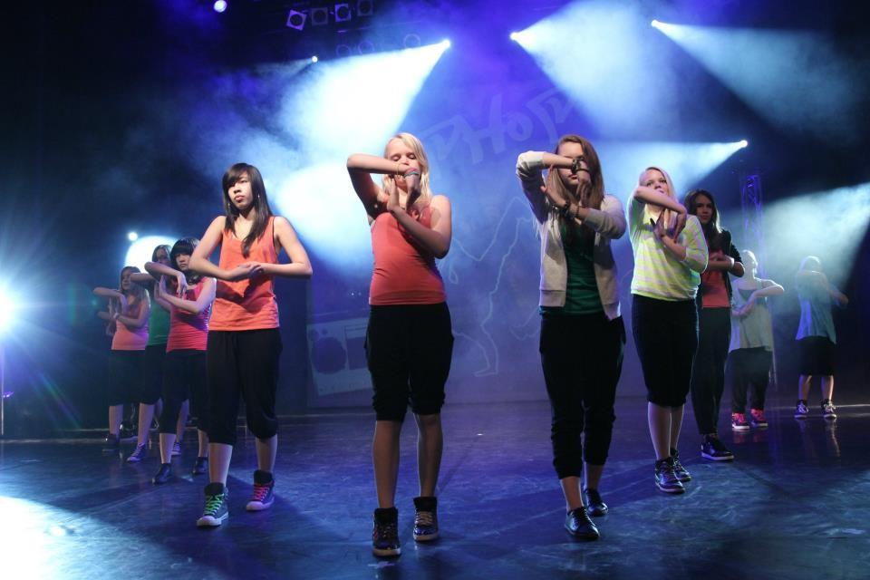"""Hip Hop Youngstarz"" Hip Hop Beginner Dance Show, Choreo: Hannah Weber"