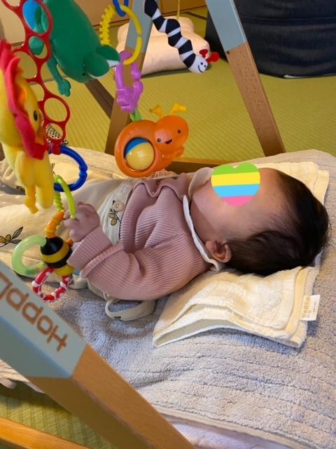 反りやすい赤ちゃん【3ヵ月育児教室】